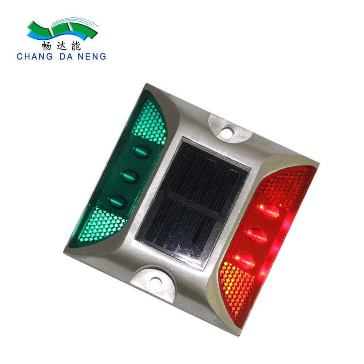 High Brightness LED Traffic Signal Lights Aluminum Road Stud